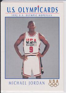 detailed look ede86 4379a Details about MICHAEL JORDAN 1992 Olympic USA DREAM TEAM Basketball Card #9  Jersey BULLS GOLD!