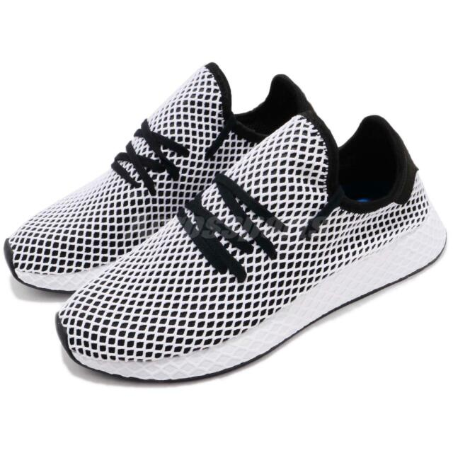 adidas Originals Deerupt Runner Black White Men Running Shoes Sneakers CQ2626