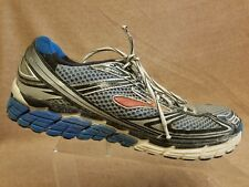 33eb3bdc8cf Brooks Ghost 5 Men Silver Blue Sport Athletic Running Training Shoes Size  11.5