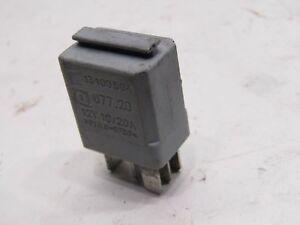 Vauxhall-Opel-Corsa-C-grey-relay-GM-13100504-1-4-SXi-1-4-Z14XEP