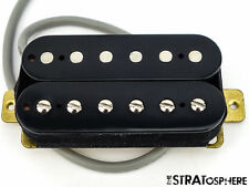* NEW Alnico 5 Humbucker PICKUP Guitar Parts 4 Wire Black Neck Position