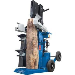 Scheppach Holzspalter HL1500TWIN 15 T mit 2 Schwenktischen + Verlängerungskeil