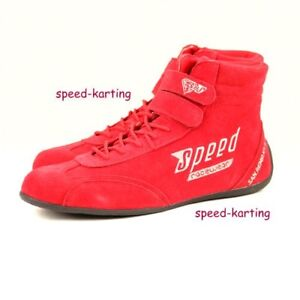 Speed-Kartschuhe-Rot-San-Remo-KS-1-Kart-Motorsport-Schuhe-Karting-Shoes