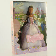 Mattel - Barbie Doll - 2001 Barbie as Rapunzel (African American) *NM Box*