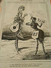 Typo 1875 - La Cigale et la Fourmie Dansez maintenant