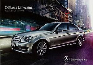 1077MB-Mercedes-C-Klasse-Preisliste-2012-4-4-12-W204-C-63-AMG-350-250-220-200