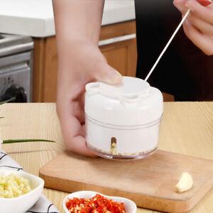 Frutta-verdura-cipolla-aglio-Cutter-Cibo-SPEEDY-Chopper-Spirale-Slicer-cucina-PO