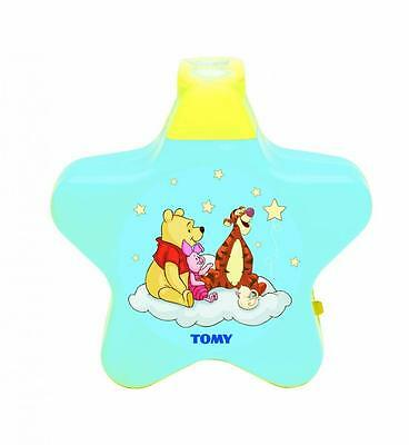 Tomy 71878 Winnie The Pooh Lullaby Dreams Baby Starry Night Light Show Projector