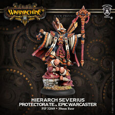 Warmachine: Protectorate of Menoth Hierarch Severius Epic Warcaster PIP32049 NEW