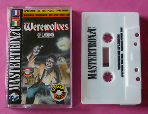 Sinclair-ZX-Spectrum-Amstrad-CPC-Mastertronic-WEREWOLVES-OF-LONDON-1988-NEW
