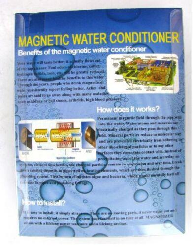 Haute qualité magnétique adoucisseur d/'eau revitalisant neuf
