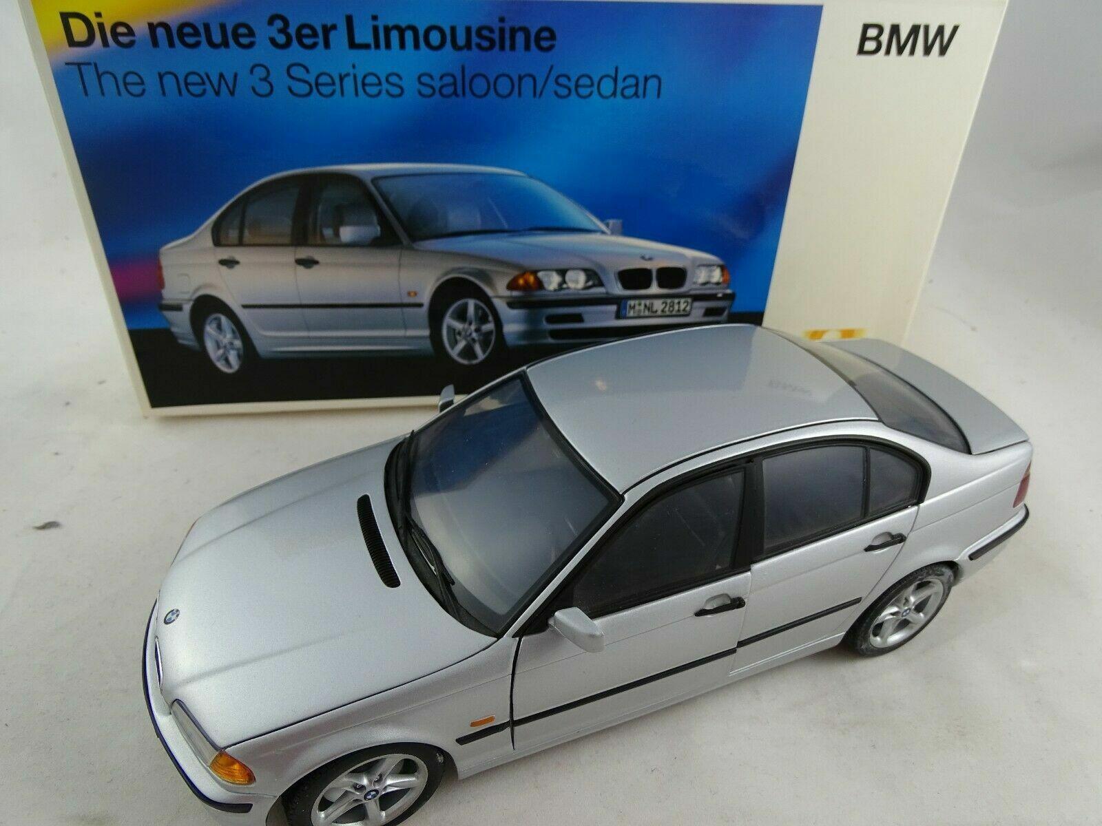 per poco costoso 1 18 spacciatori spacciatori spacciatori pubblicitaria modellololo  80439421535 BMW 3er LIMOUSINE argentooO rarità come nuovo  marchi di stilisti economici