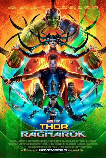 Z2128 Thor Ragnarok 2017 Art Hot Movie Film Tom Silk Poster 36x24 40x27