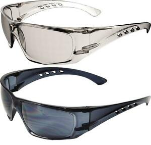 12-x-UCI-Samova-Safety-Spectacles-Glasses-Clear-amp-Smoke