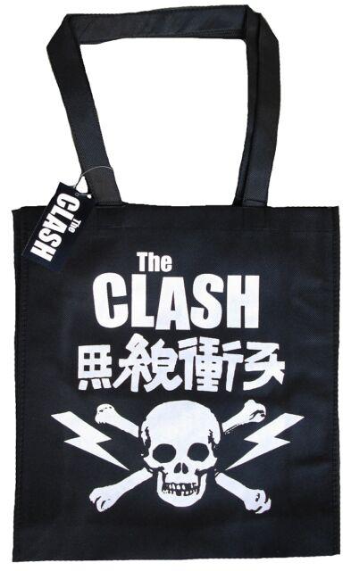 Offic.the Clash Skull under License Global Merchandising Shopping Bag Eco Bag