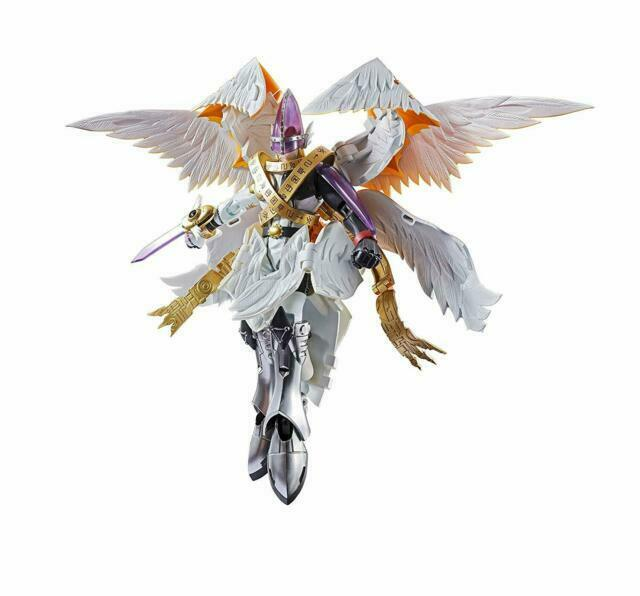 Digivolving Spirits Digimon Adventure 07 Holy Angemon 165mm Action Figure Japan For Sale Online Ebay Angemon is an angel digimon whose name and design is derived from angel. digivolving spirits digimon adventure 07 holy angemon 165mm action figure japan
