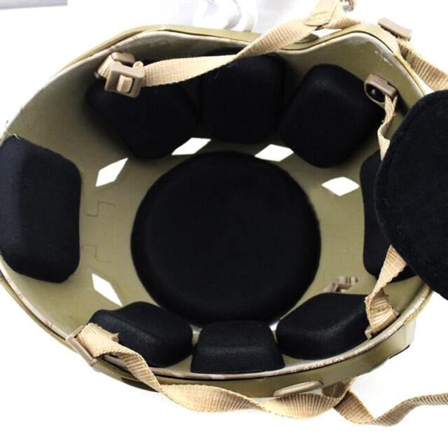 19Pcs//set Tactical Military Helmet Pads Hunting Helmet Protective Pad .F/_RZ