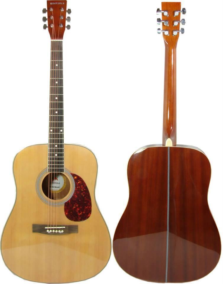 Guitarra Guitarra Guitarra Acústica Kobrat Profesional Con Funda, Cursos 3e017d