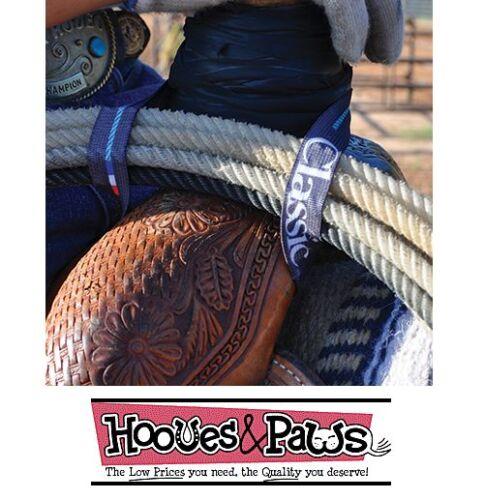 Classic Equine Ropes Elastic Lariat Rope Holder Strap Western Horse Tack New PK
