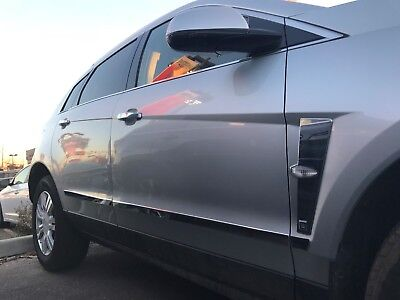 Stainless Steel 6pc Lower Accent Side Molding Trim for 2010-2016 Cadillac SRX