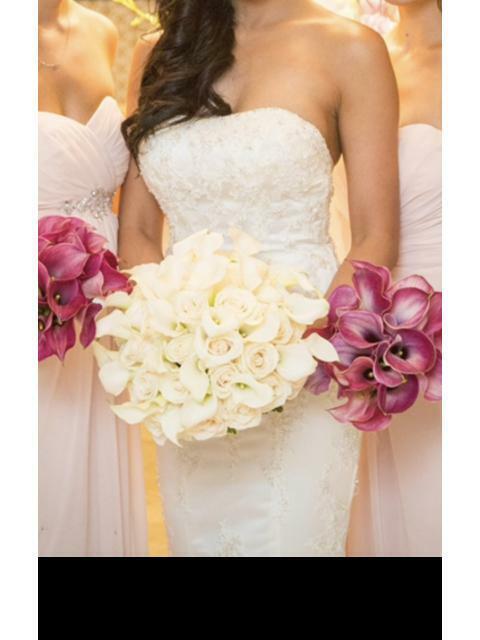 Wedding Dress Used Twice Moonlight Design Size 6