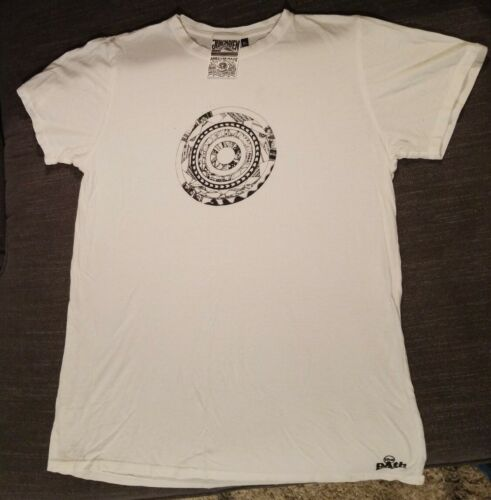 Jungmaven Graphic Tee Hemp T-shirt white size XL