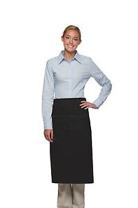 Daystar-Apron-1-Style-128-full-bistro-apron-center-divided-pocket-Made-in-USA