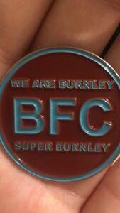 BFC Pin Badge ( We Are Burnley Super Burnley ) Brand New Design UTC