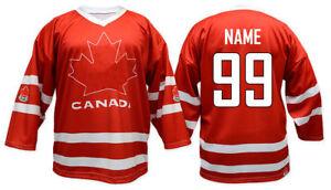 Image is loading Team-Canada-RED-Ice-Hockey-Jersey-Custom-Name- 89e1cab6e