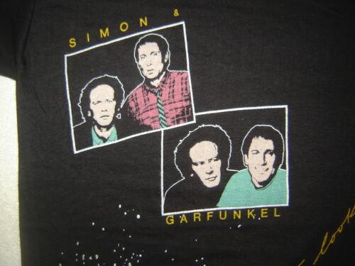 Vintage Concert T-Shirt SIMON & GARFUNKEL 83 NEVER