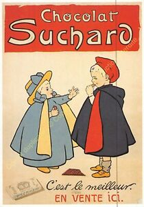 CP Postcard Poster Advertising Chocolat Suchard Edit Clouet 10486