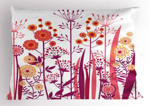 Modern Girls Pillow Sham Decorative Pillowcase 3 Sizes Bedroom Decoration