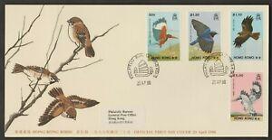 F88-CHINA-HONG-KONG-1988-HONG-KONG-BIRDS-FDC-2001-SG-CAT-9-50-FOR-USED-STAMPS
