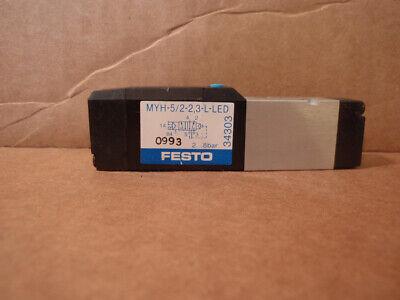 1PC New Festo MYH-5//2-2,3-L-LED 34303 Solenoid Valve