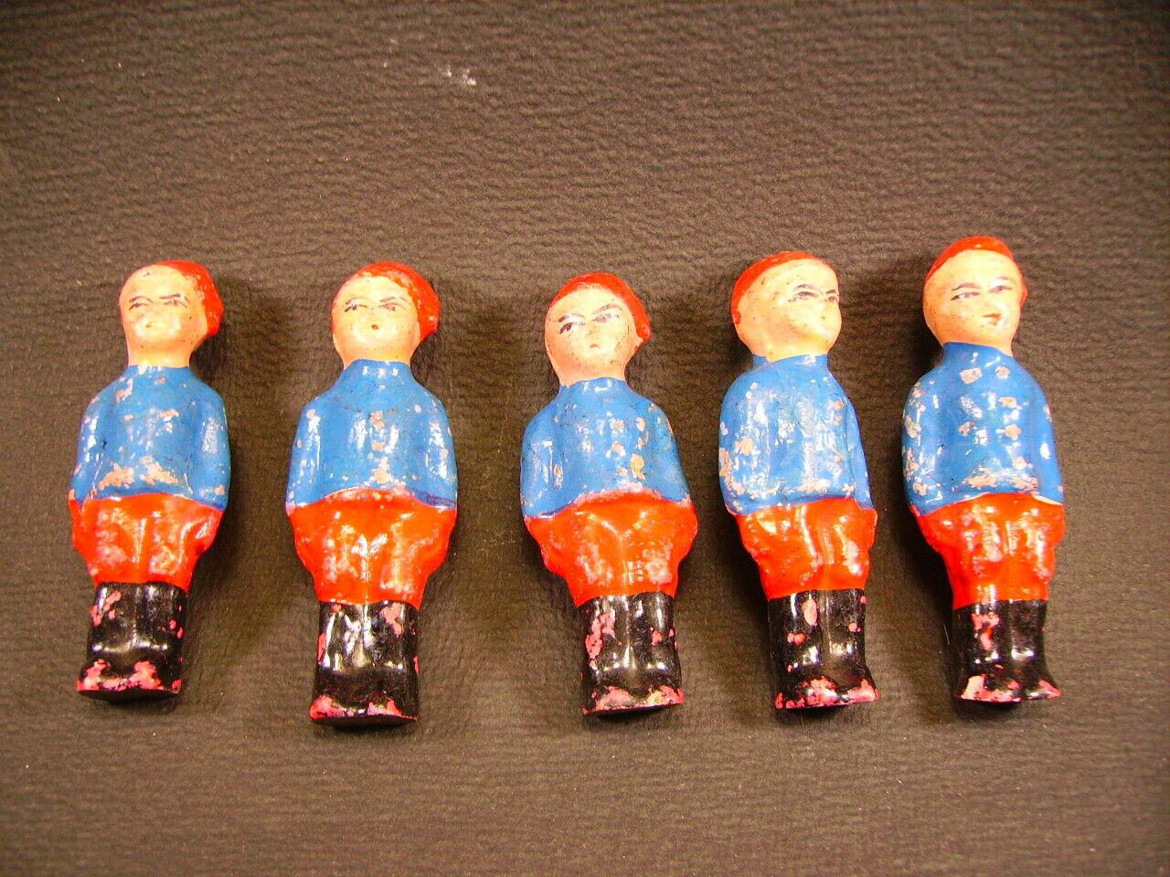 BonDufour Personaggio  5 Soldati  Antic giocattoli Francia