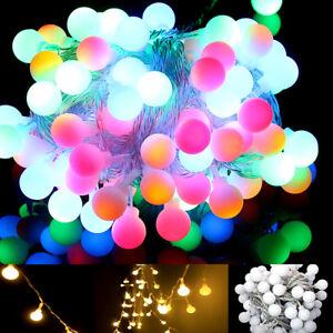 10M-100LED-Ball-Fairy-String-Light-Wedding-Xmas-Party-Patio-Decor-Lamp-Lights