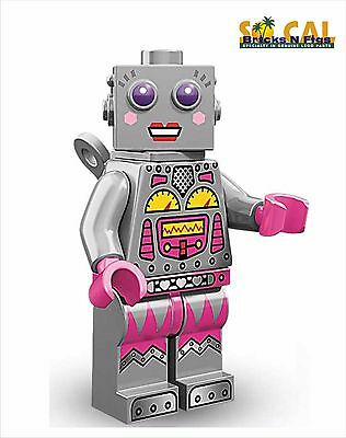 Minifig // Mini Figure Series 11 Minifigure Lady Robot LEGO 71002