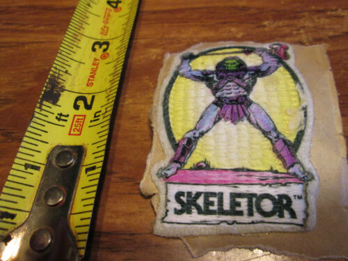 VINTAGE SKELTOR PATCH SWEET LOOKING 2.5 INCHES  RARE
