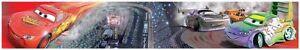 Disney-Cars-039-Course-039-5m-Autocollant-Bordures-Papier-Peint-Neuf-Officiel