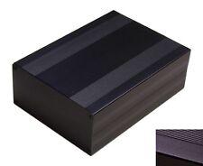 Diy Black Aluminum Project Box Enclosure Case Electronic Large Big