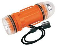 Underwater Strobe Light And Flashlight, Orange