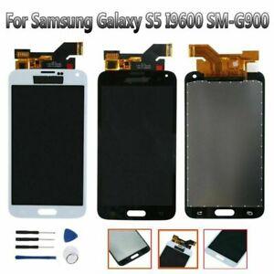 Écran Tactile Numériseur Affichage LCD Pour Samsung Galaxy S5 i9600 G900F G900H MV