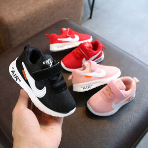 KIDS-BABY-INFANTS-TRAINERS-SHOES-BOYS-GIRLS-SPORT-RUNNING-TODDLER-SHOCK-AIR-SIZE