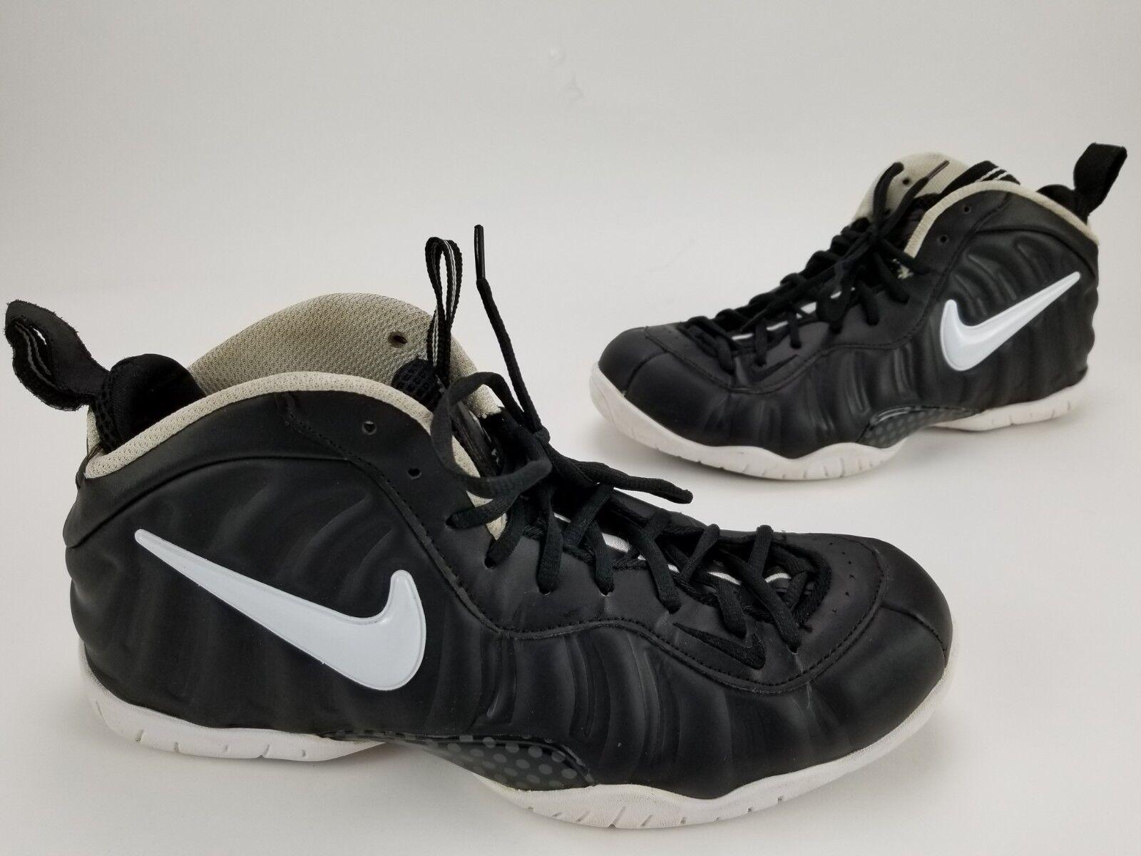 Nike Air Foamposite Pro Dr Doom Black White Foams Men's shoes 624041-604 Size 11