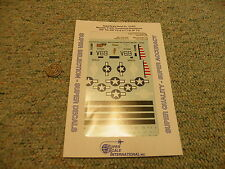 Superscale decals 1/72 72-843 P-47D Razorback Thunderbolts 460th 348th 311  N121