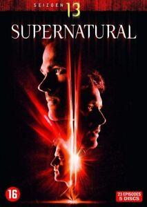 Supernatural-Season-Saison-13-Integral-DVD-Neu-Unter-Boden-wie-Cellophantueten