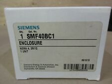 Siemens Smf40bc1 Enclosure Nema 4 3r12