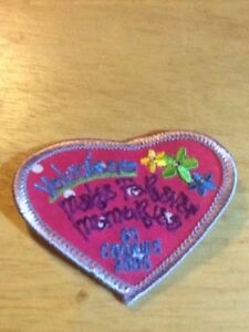 girl scouts cookie participation patch 2005 volunteers