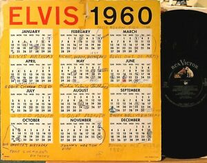 Elvis Presley Is Back Vinyl LP RCA LPM-2231 VG+ Mono + A Date With Elvis Cover