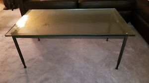 Details About Restoration Hardware Coffee Table End Table